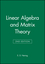 Linear Algebra and Matrix Theory, 2nd Edition (0471631787) cover image