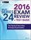 Wiley Series 24 Exam Review 2016 + Test Bank: The General Securities Principal Qualification Examination (1119112087) cover image