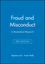 Fraud and Misconduct: in Biomedical Research, 3rd Edition (0727915088) cover image