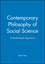 Contemporary Philosophy of Social Science: A Multicultural Approach (1557865388) cover image
