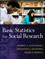 Basic Statistics for Social Research (0470587989) cover image