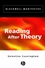 Reading After Theory (0631221689) cover image