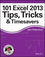 101 Excel 2013 Tips, Tricks and Timesavers (111864218X) cover image