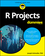 R Projects For Dummies (111944618X) cover image