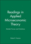 Readings in Applied Microeconomic Theory: Market Forces and Solutions (0631220690) cover image