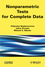 Nonparametric Tests for Complete Data (1848212690) cover image