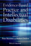 Evidence-Based Practice and Intellectual Disabilities (0470710691) cover image