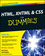HTML, XHTML and CSS For Dummies, 7th Edition (0470916591) cover image