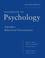 Handbook of Psychology, Volume 3, Behavioral Neuroscience, 2nd Edition (0470890592) cover image