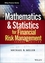 Mathematics and Statistics for Financial Risk Management, 2nd Edition (1118750292) cover image
