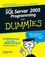 Microsoft SQL Server 2005 Programming For Dummies (0470128593) cover image