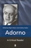 Adorno: A Critical Reader (0631212493) cover image