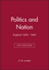 Politics and Nation: England 1450 - 1660, 5th Edition (0631214593) cover image