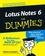 Lotus Notes 6 For Dummies (0764516493) cover image