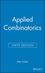 Applied Combinatorics, 6th Edition (EHEP001993) cover image