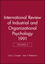 International Review of Industrial and Organizational Psychology, 1991 Volume 6 (0471928194) cover image
