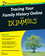 Tracing Your Family History Online For Dummies, 2nd Australian Edition (0731409094) cover image