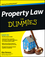 Property Law For Dummies (1118375394) cover image