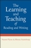 The Learning and Teaching of Reading and Writing (0470019395) cover image