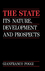 The State: Its Nature, Development and Prospects (0745608795) cover image