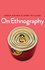On Ethnography (0745685595) cover image