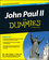 John Paul II For Dummies, Special Edition (1118895495) cover image