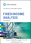 Fixed Income Analysis, 3rd Edition (1118999495) cover image
