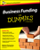 Business Funding For Dummies (1119111595) cover image
