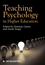 Teaching Psychology in Higher Education (1405195495) cover image