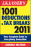 J.K. Lasser's 1001 Deductions and Tax Breaks 2011: Your Complete Guide to Everything Deductible (0470939796) cover image