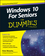 Windows 10 For Seniors For Dummies (1119038596) cover image