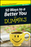 50 Ways to a Better You For Dummmies, Mini Edition (1118042697) cover image