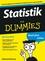 Statistik für Dummies (3527658297) cover image