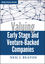 Valuing Early Stage and Venture Backed Companies (0470436298) cover image