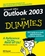 Outlook�2003 For Dummies (0764537598) cover image