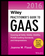 Wiley Practitioner's Guide to GAAS 2016: Covering all SASs, SSAEs, SSARSs, PCAOB Auditing Standards, and Interpretations (1119107598) cover image