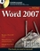 Microsoft Word 2007 Bible (0470046899) cover image