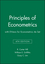 Principles of Econometrics 4e with EViews for Econometrics 4e Set (1118138899) cover image