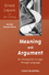 Meaning and Argument: An Introduction to Logic Through Language, 2nd, Revised Edition (1118390199) cover image