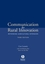 Communication for Rural Innovation: Rethinking Agricultural Extension, 3rd Edition (063205249X) cover image