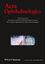 Acta Ophthalmologica (AOS) cover image