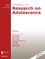 Journal of Research on Adolescence (JRA4) cover image
