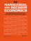 Managerial and Decision Economics (MDE) cover image