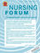 Nursing Forum (NUF) cover image