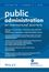 Public Administration (PADM) cover image