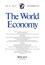 The World Economy (TWEC) cover image
