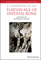 A Companion to the Flavian Age of Imperial Rome (1444336002) cover image