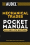 Audel Mechanical Trades Pocket Manual, All New 4th Edition (0764541706) cover image