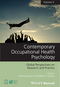 Contemporary Occupational Health Psychology: Global Perspectives on Research and Practice, Volume 3 (1118713907) cover image