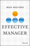 The Effective Manager (1119244609) cover image